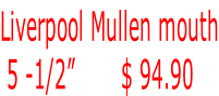 "Liverpool Mullen mouth  5 -1/2""       $ 94.90"